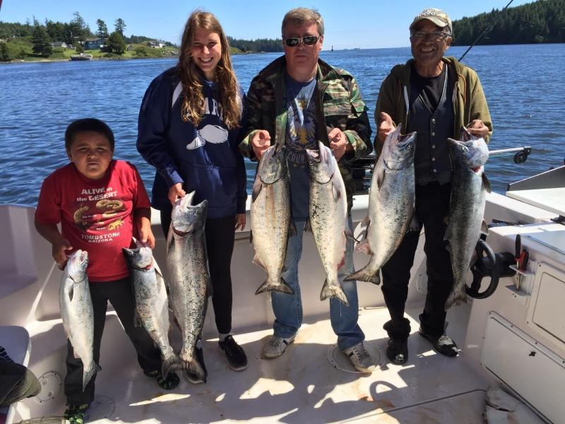 Yuri Group- Ucluelet Salmon Charters