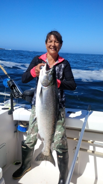 salmon charter dottie