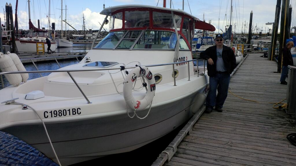Hot Pursuit Charters.ca boat Code 3 Ucluelet