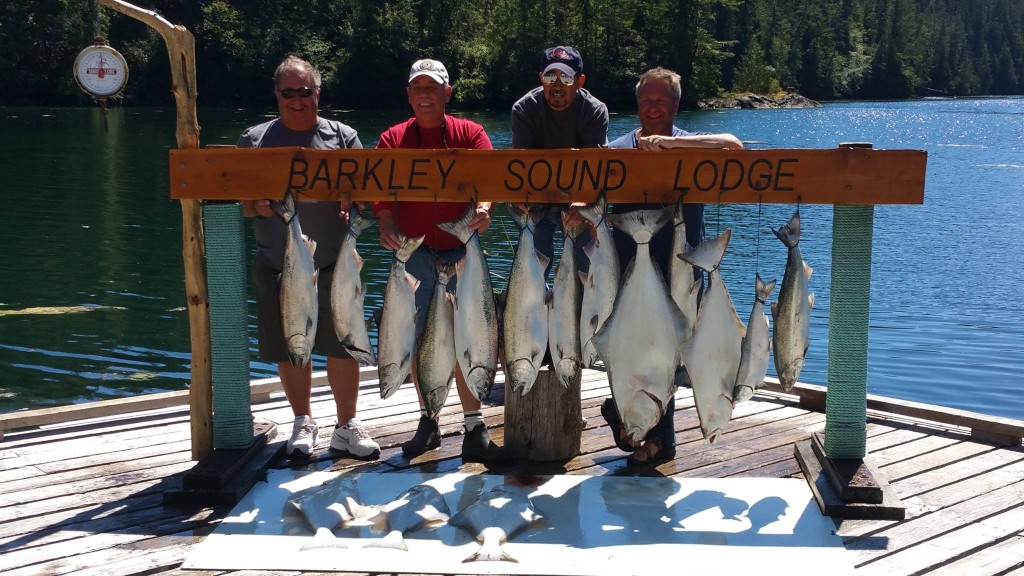 All Inclusive Fishing Trip Ucluelet BC Hot Pursuit Charters.ca