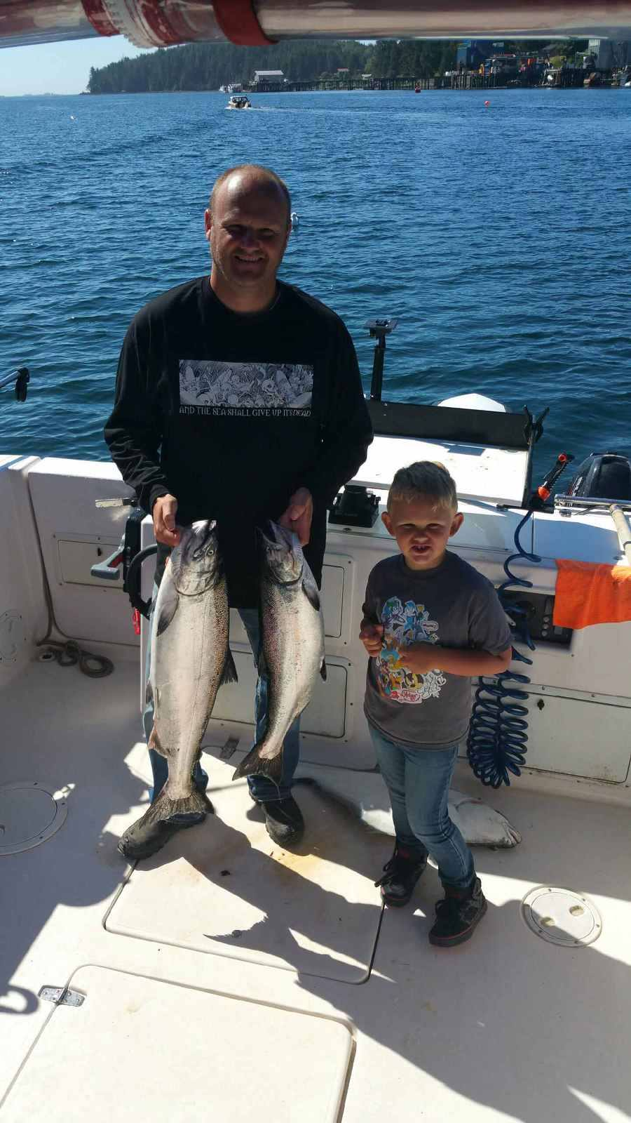 salmon and halibut Hot Pursuit Charters.ca